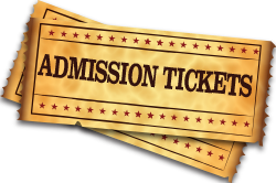Admission Tickets Available