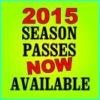 2015 Season Passes On Sale!