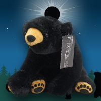 Solar Eclipse Black Bear Plush