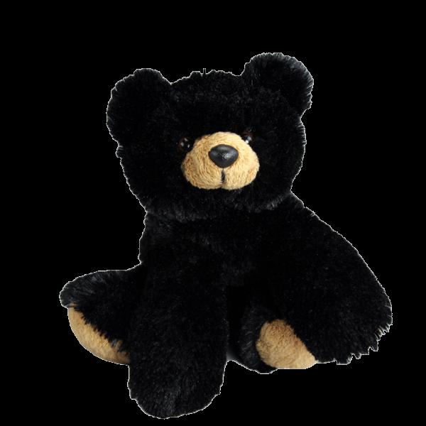 black bear 8 inch plush