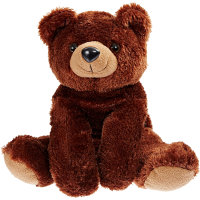 brown bear 16 inch plush