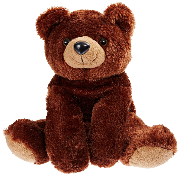 snuggle ups stuffed animal drake brown bear