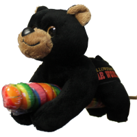 Lollyplush Black Bear