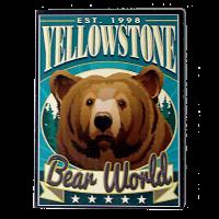 Bear Poster Magnet