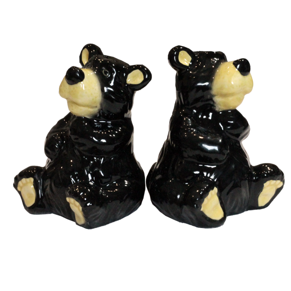 Bear Figure Salt and Pepper Shakers
