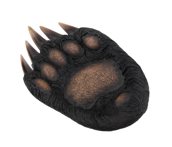 Large Bear Paw Dish Bowl