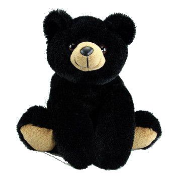 black bear 16 inch plush braden