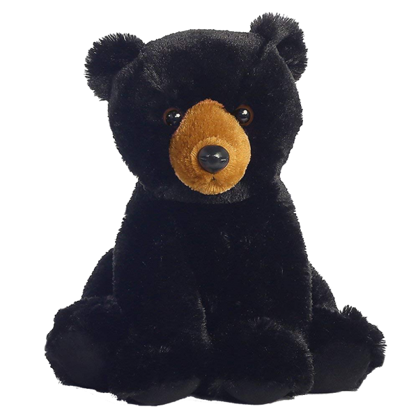 black bear plush aurora 14 inches