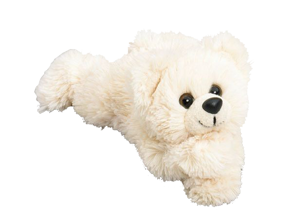 cream colored bear plush butter jr