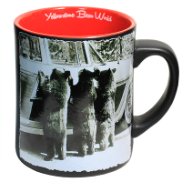 photo mug with old yellowstone phtotos