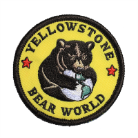 Souvenir Patch Yellowstone Bear World - Iron-on