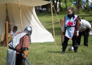 Renaissance Faire - Knights Tournament