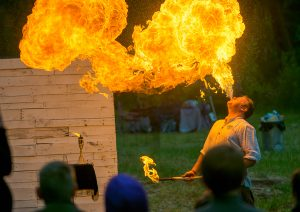 Renaissance Faire - Magic and Fire