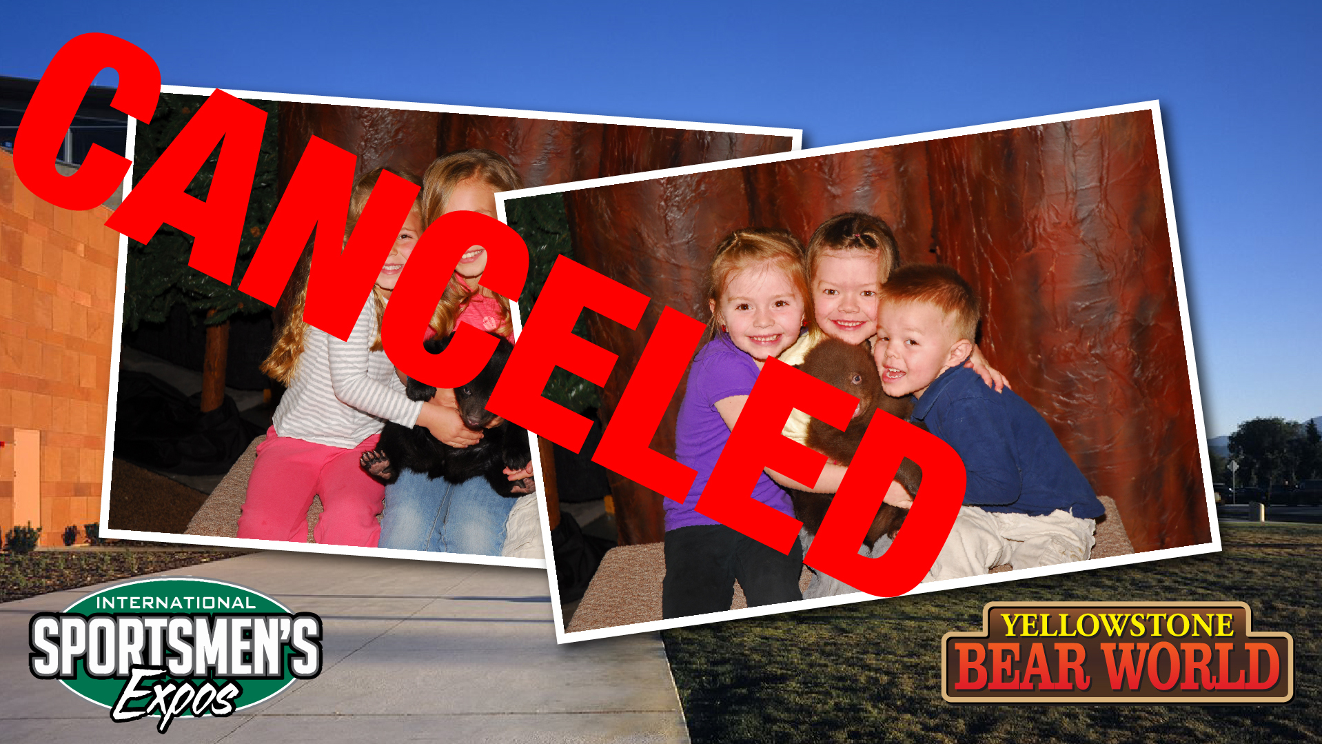 Bear Cub Photos Cancelled
